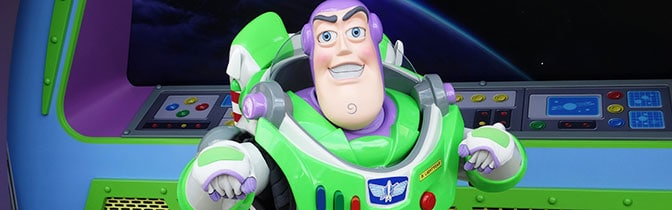 Buzz Lightyear Magic Kingdom meet and greet