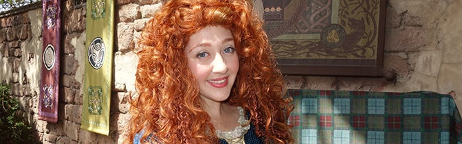 Merida Magic Kingdom meet and greet KennythePirate