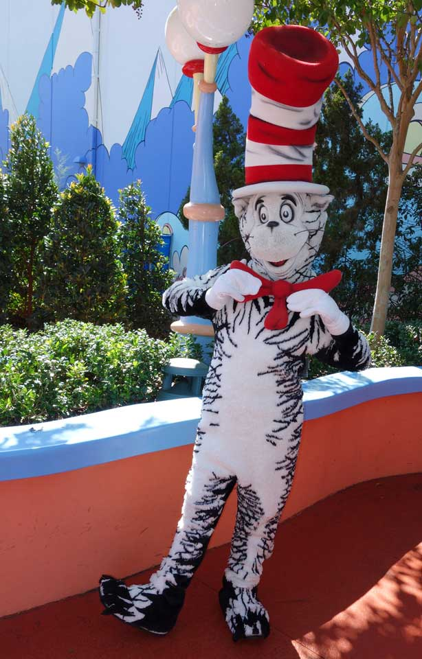 Cat in the Hat Islands of Adventure 2012