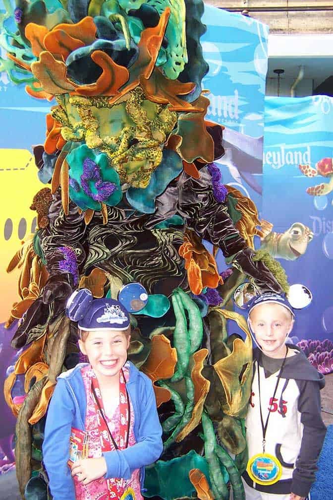 We met Coral in Disneyland 2007