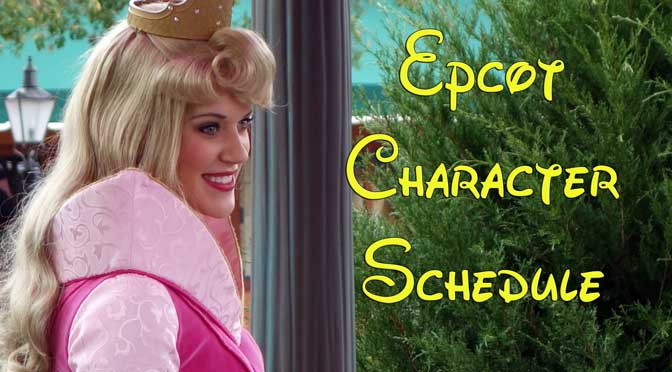 epcot character schedules, how to meet disney world epcot characters
