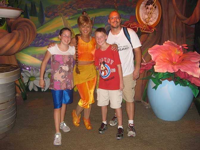 Fawn in Magic Kingdom 2010