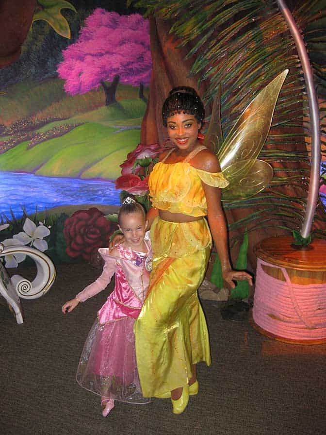 Walt Disney World, Magic Kingdom, Tinker Bell's Nook, Iridessa, Meet and Greet