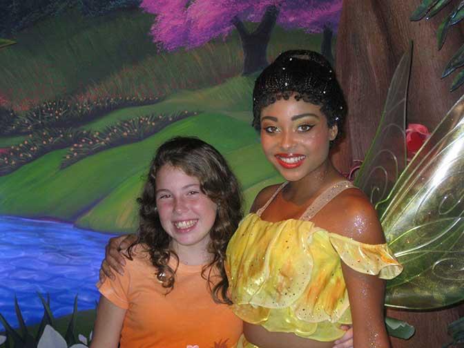 Iridessa in Magic Kingdom 2009