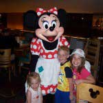 Minnie at Chef Mickey's