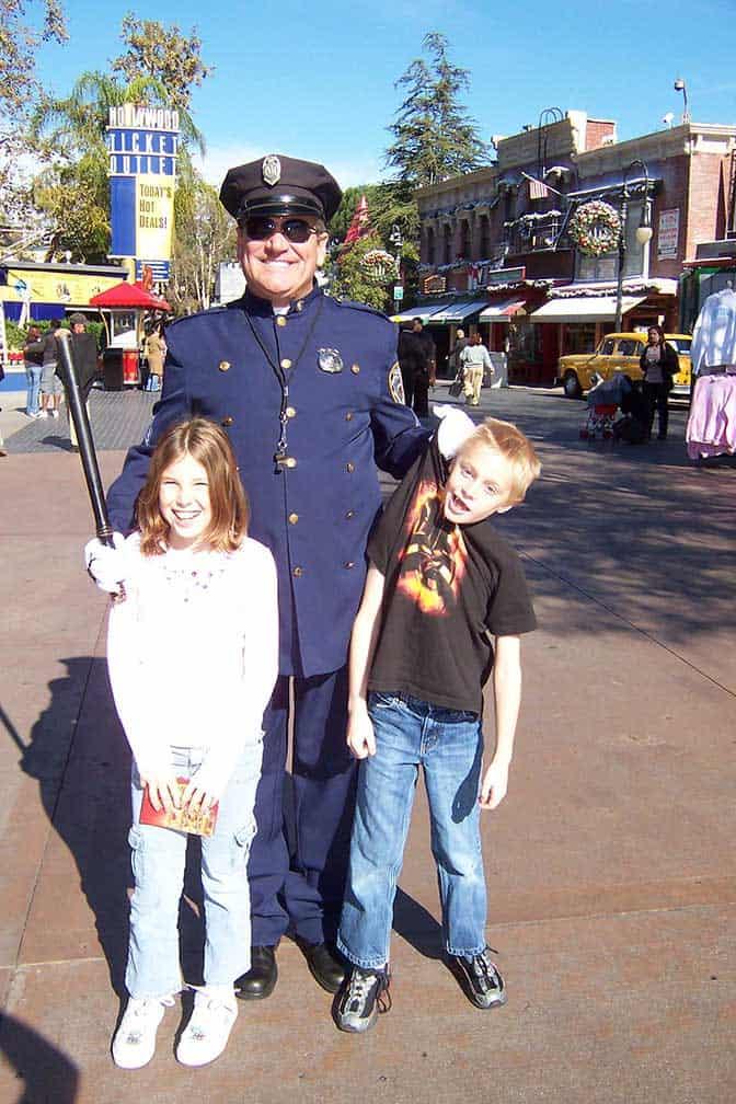 Policeman Universal Studios Hollywood 2007