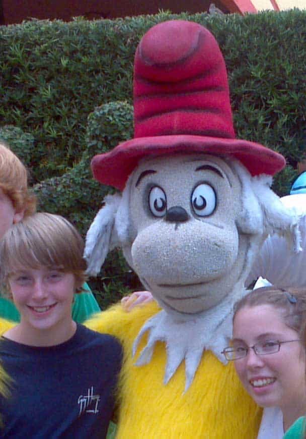 Sam I Am Universal Studios 2011