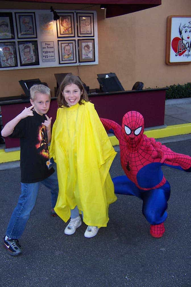 Spiderman Universal Studios Hollywood 2007