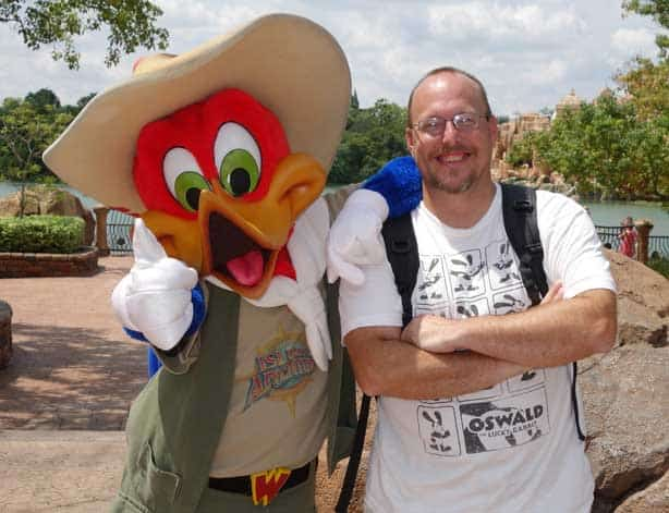 Woody Woodpecker Universal Islands of Adventure 2012