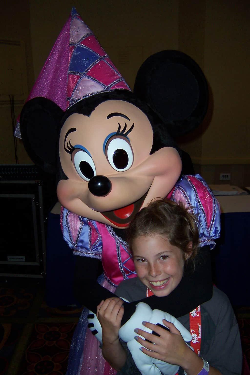 Minnie Mouse Disneyland 2007