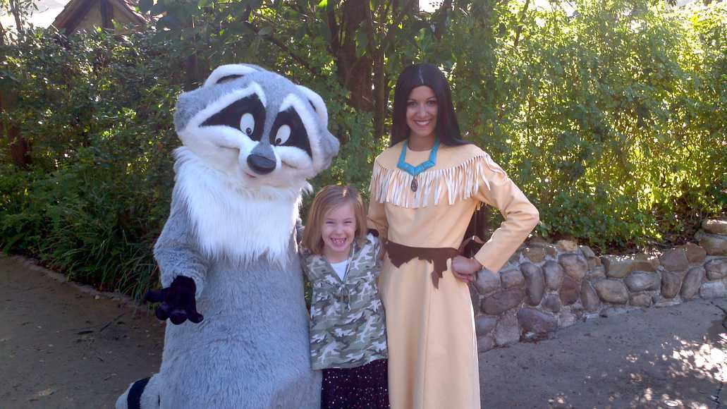 Meeko in Animal Kingdom 2011