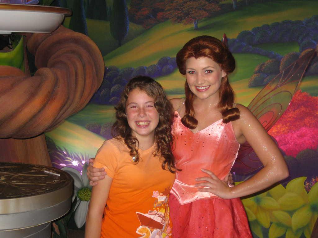 Rosetta in Magic Kingdom 2009