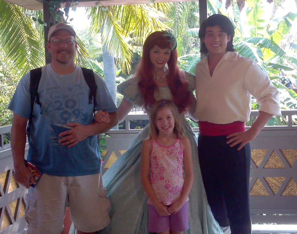 Ariel and Prince Eric ...