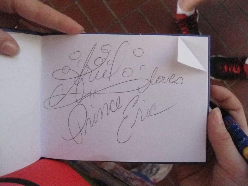 27 Ariel & Erics Autograph