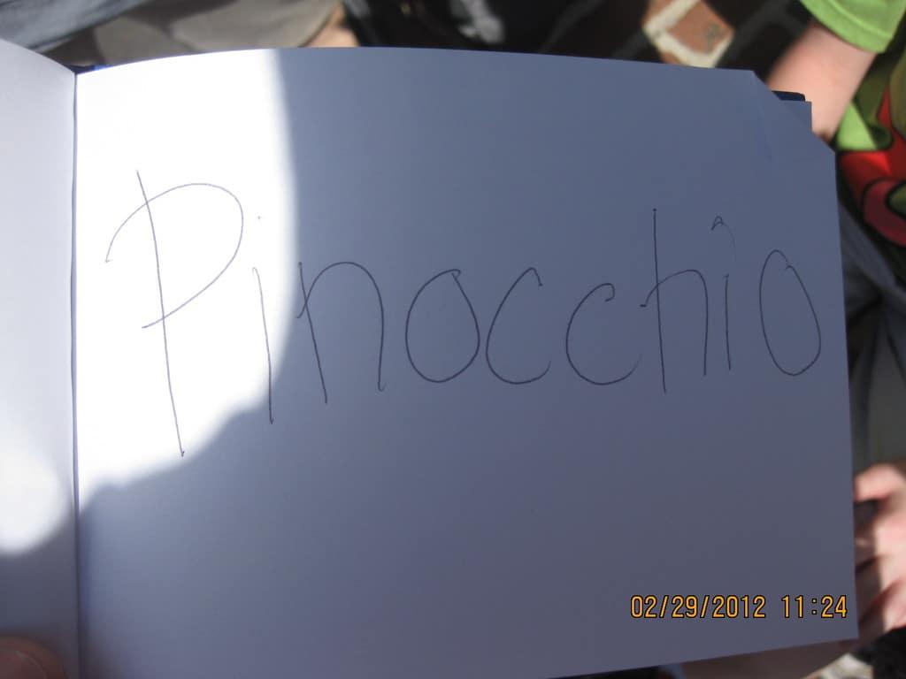 31 Pinocchios Autograph