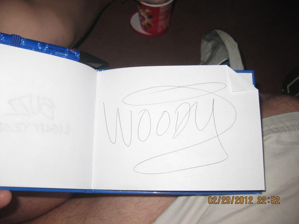 51 Woodys Autograph