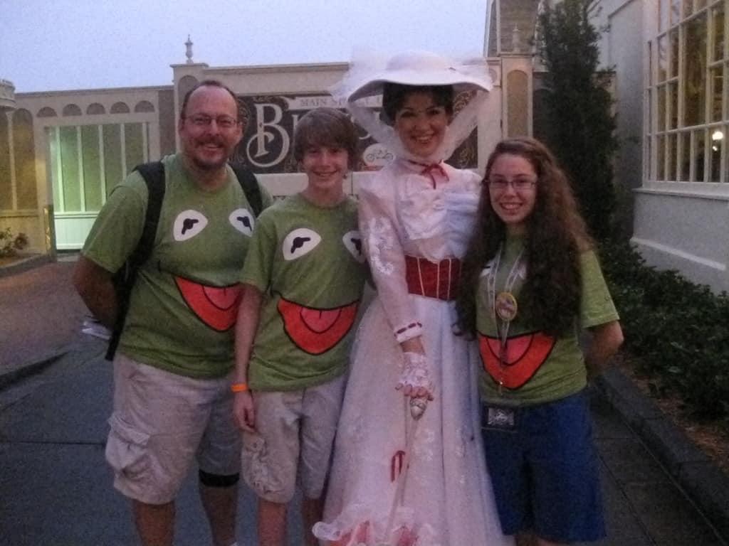 Mary Poppins Magic Kingdom 2012