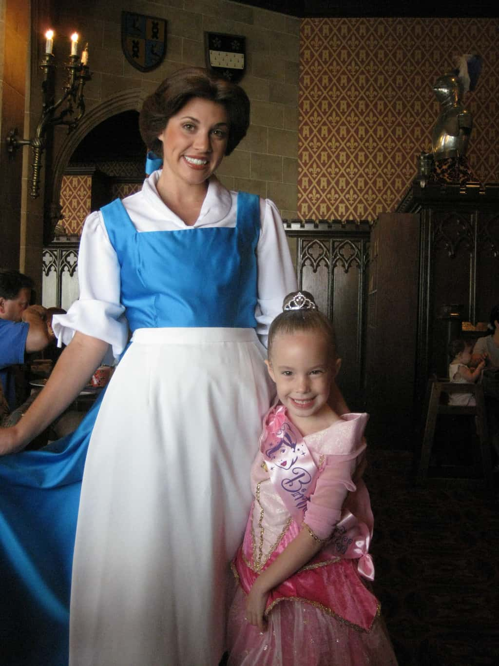 Belle at Cinderella's Royal Table 2009