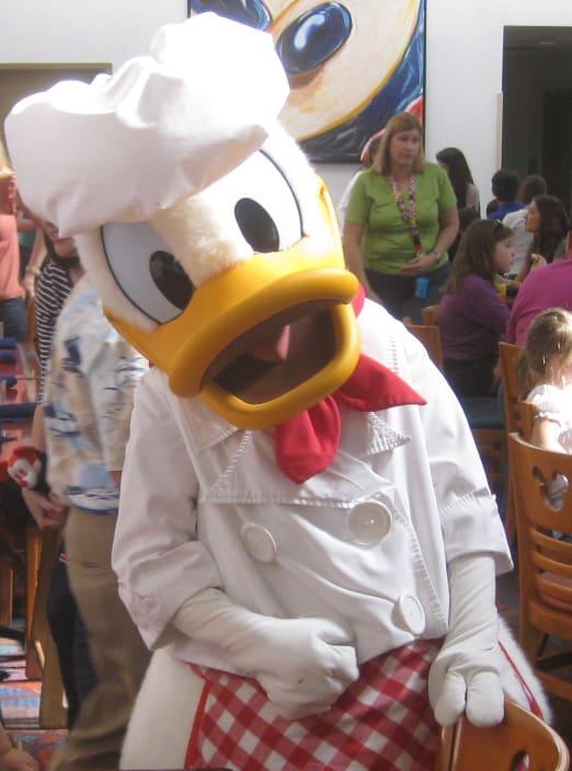 Donald Chef Mickeys 2011
