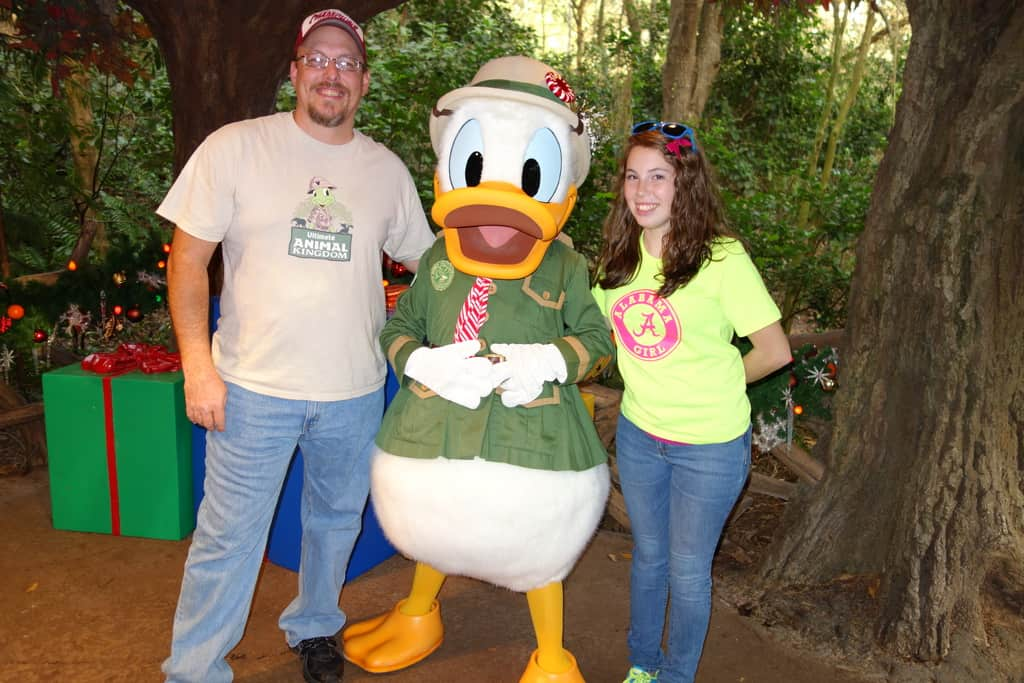 Donald Duck Animal Kingdom 2012