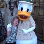 Donald Duck Animal Kingdom 2011