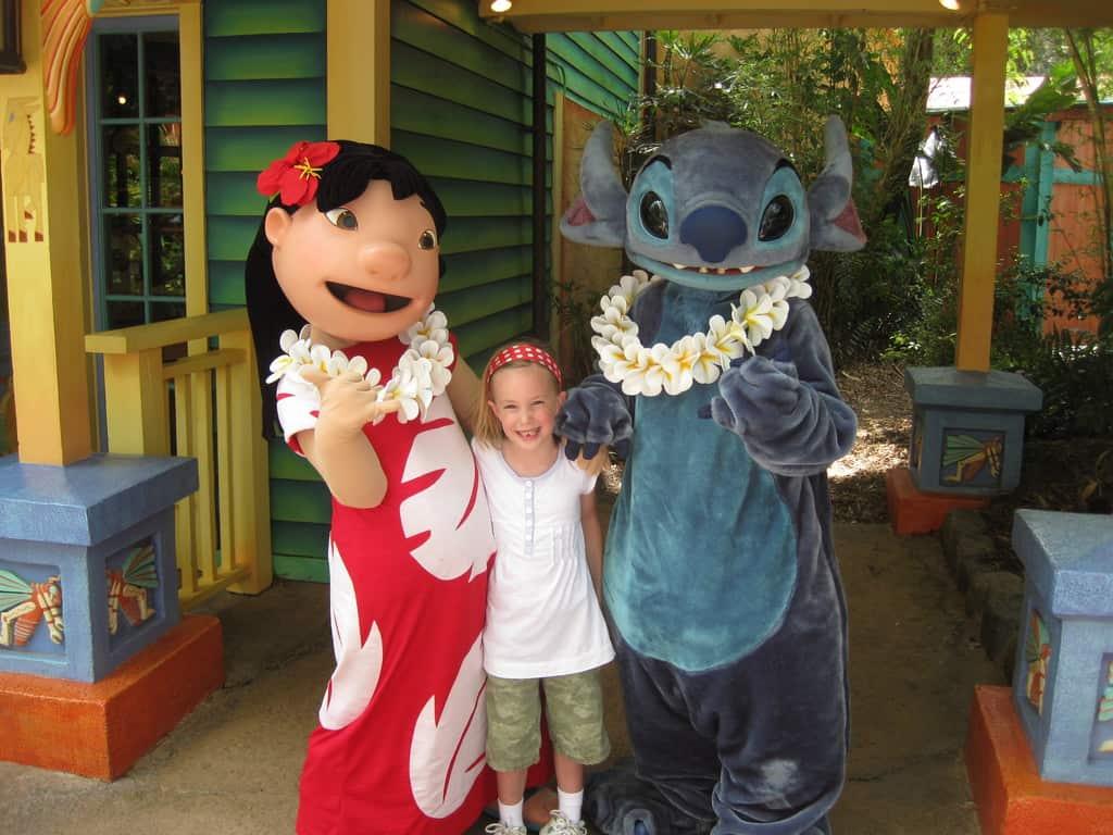 Lilo and Stitch at Animal Kingdom 2010