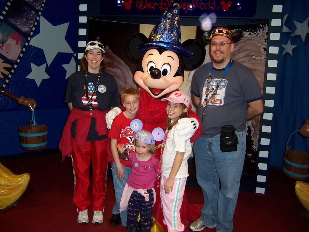 Sorcerer Apprentice Mickey Hollywood Studios 2006