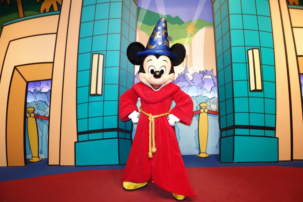 Walt Disney World, Hollywood Studios, Character Locations, Mickey Mouse,Sorcerer Mickey
