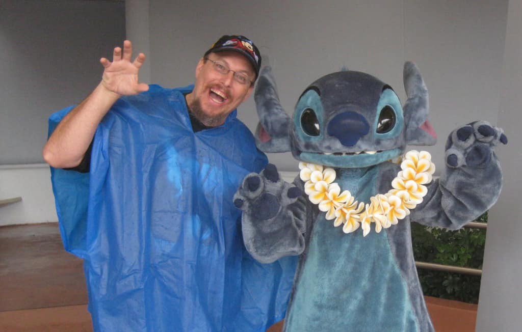 Stitch in Epcot 2011