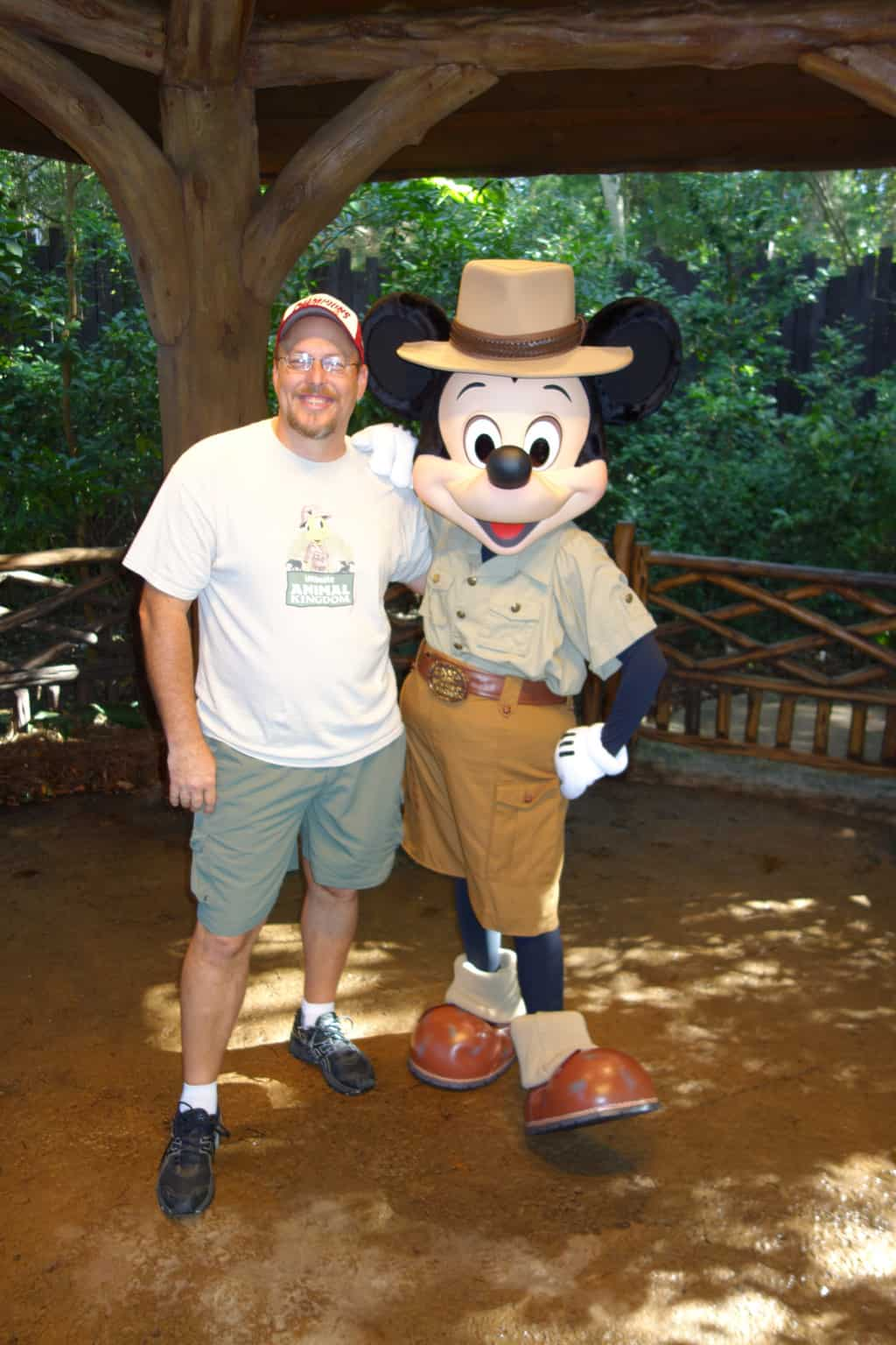 Mickey Mouse in Animal Kingdom 2012