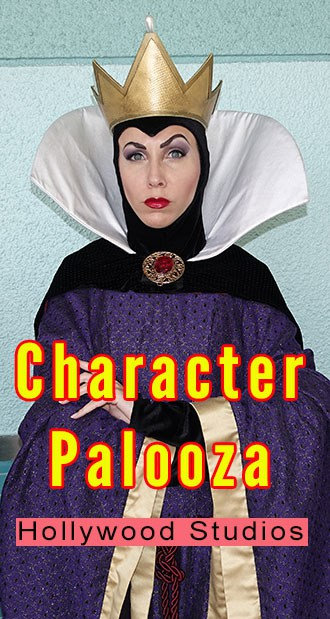 Character Palooza at Disney's Hollywood Studios