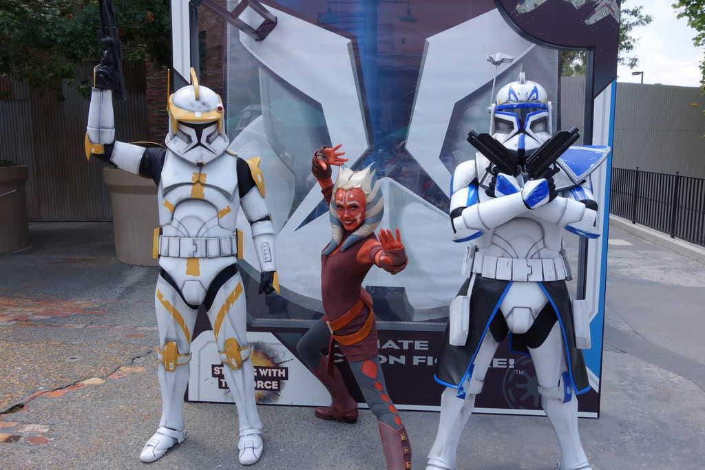 Ahsoka tano commander cody captain rex star wars weekends 2013 1