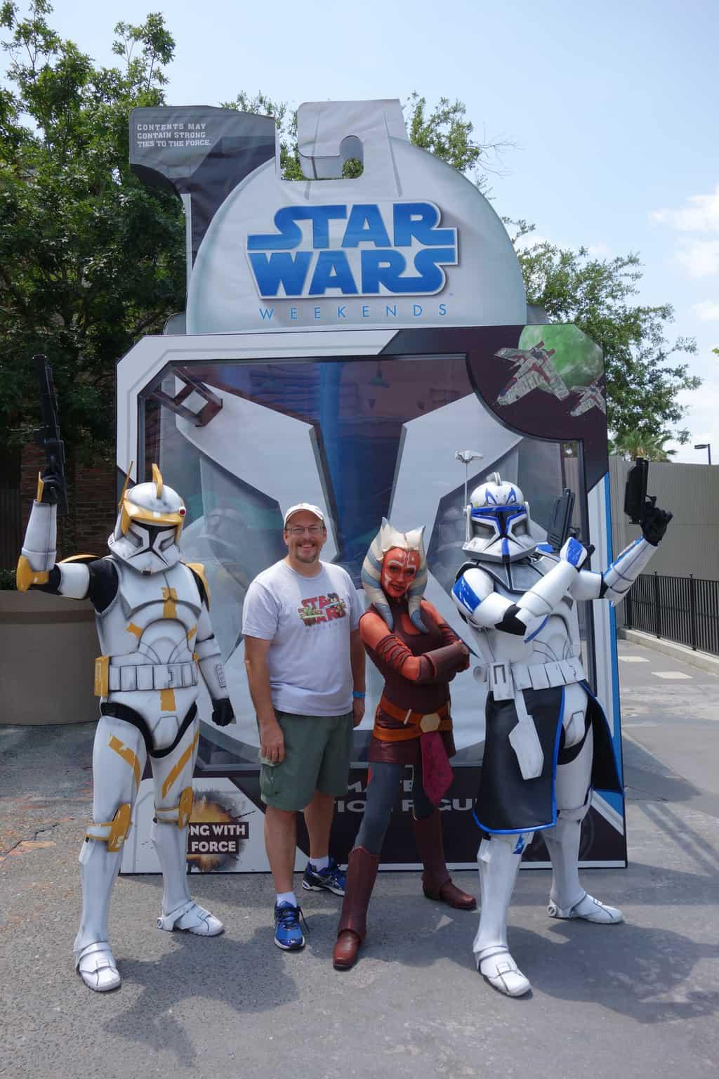 Ahsoka Tano Commander Cody Captain Rex Star Wars Weekends