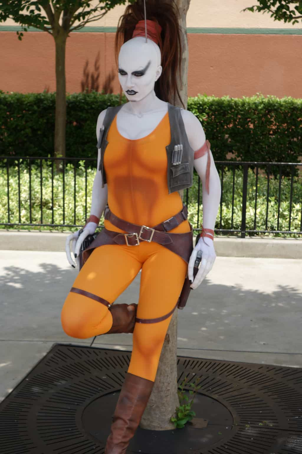 Aurra Sing Star Wars Weekends 2013 - Bad girl bounty hunter