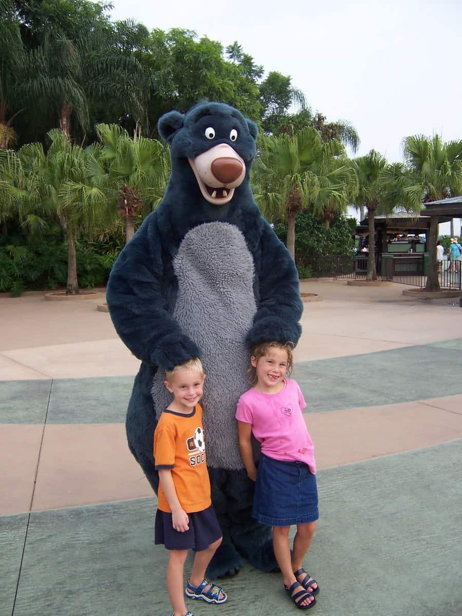 Baloo Animal Kingom 2004
