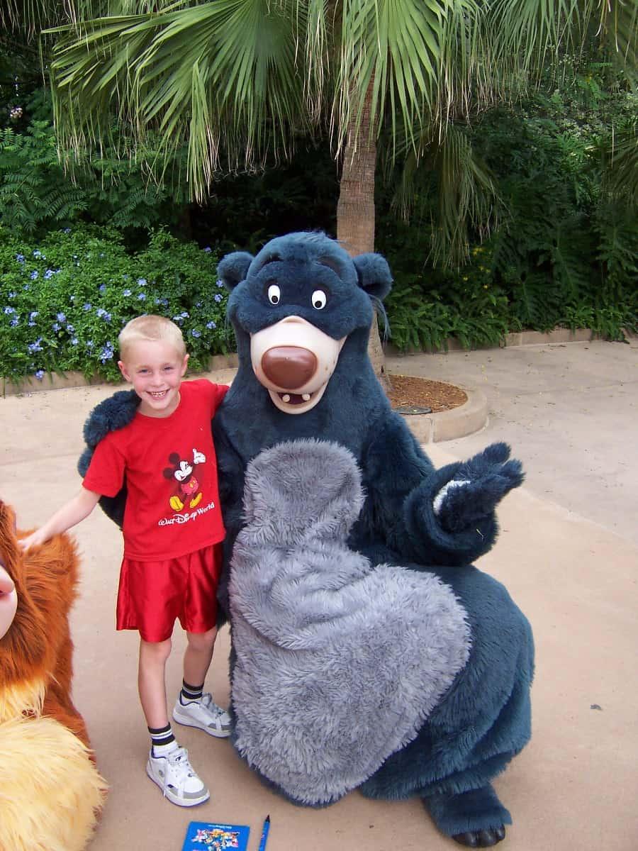 Baloo Animal Kingdom 2006