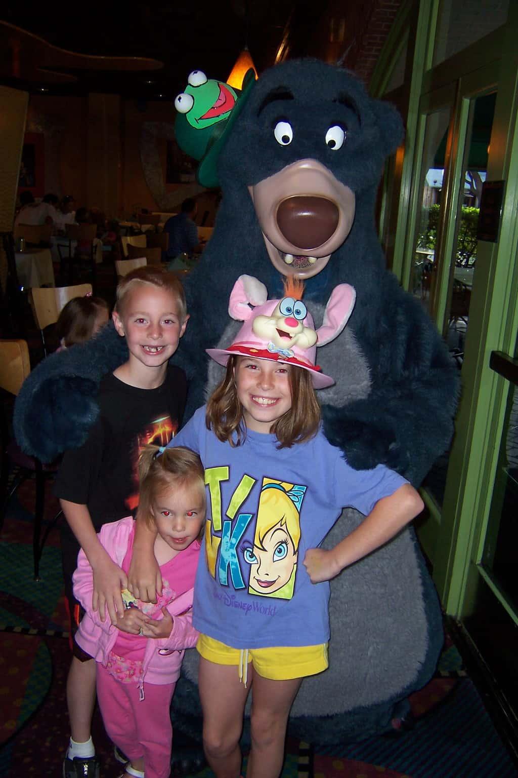 Baloo Disneyland 2007