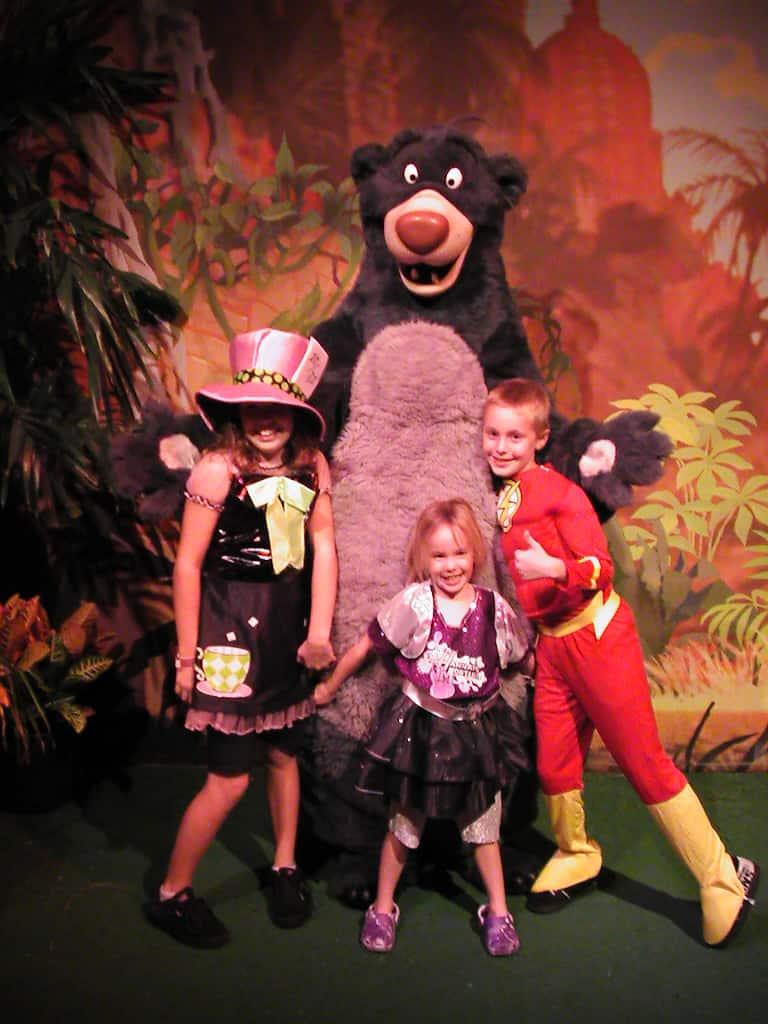 Baloo Mickey's Not So Scary Halloween Party 2008