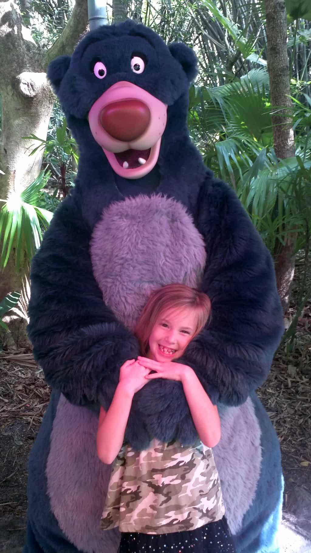 Baloo Animal Kingdom 2011