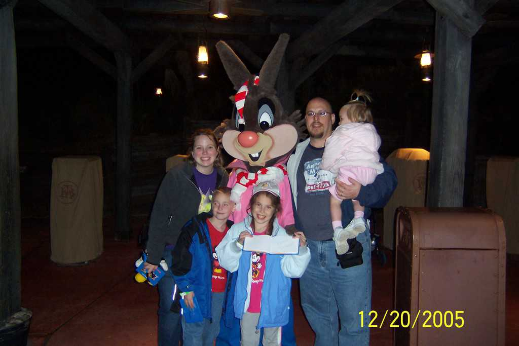 Br'er Rabbit 2005 Christmas Party at the Magic Kingdom