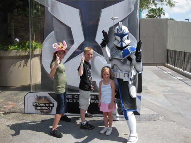 Captain Rex at Star Wars Weekends 2009