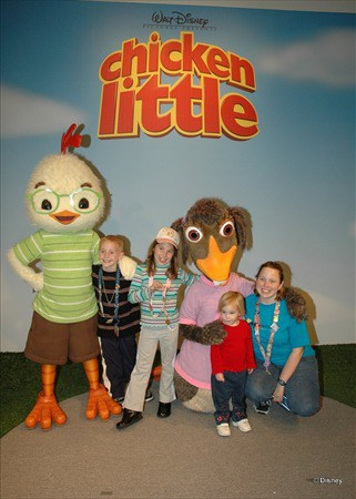 Chicken Little and Abby Mallard 2005