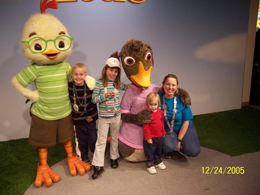 Uncategorized Chicken Little And Abby chicken little and abby mallard in hollywood studios 2005 2005