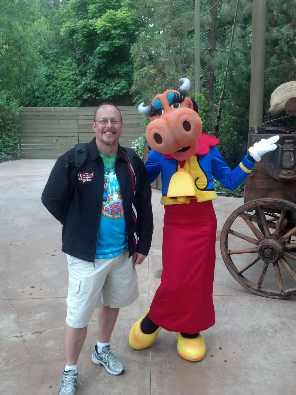 Clarabelle in Disneyland 2012