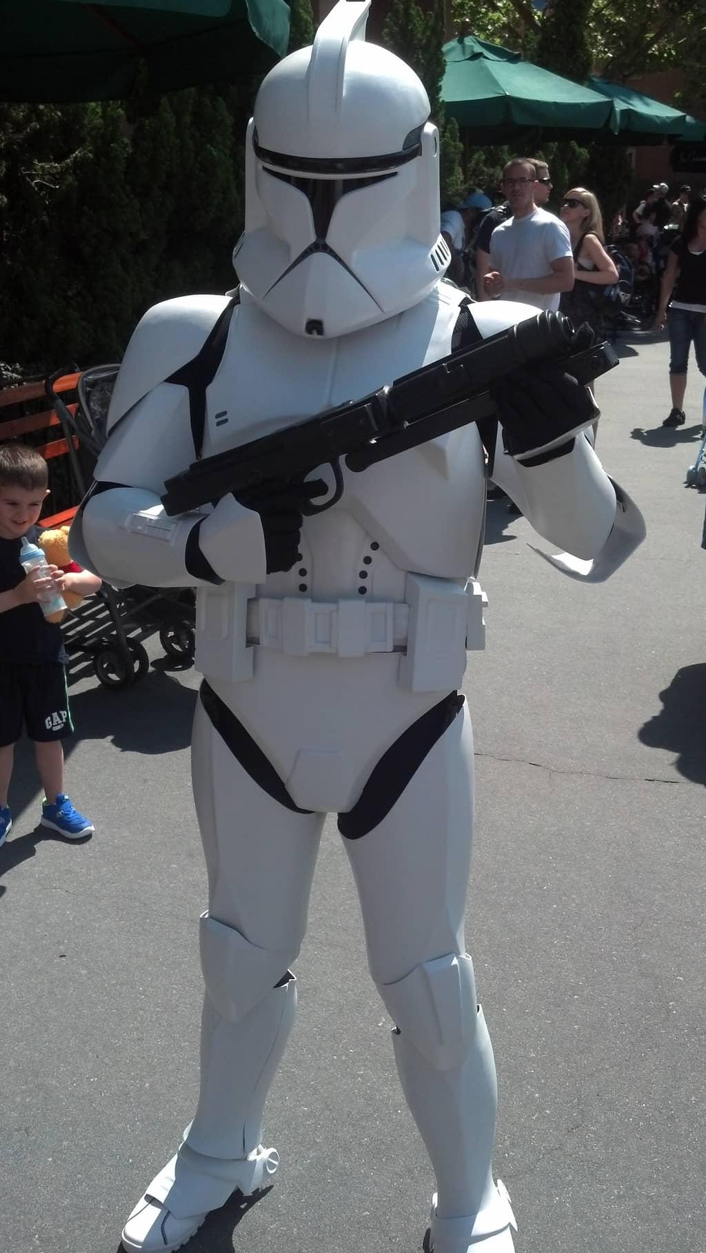 Clone Trooper Star Wars Weekends