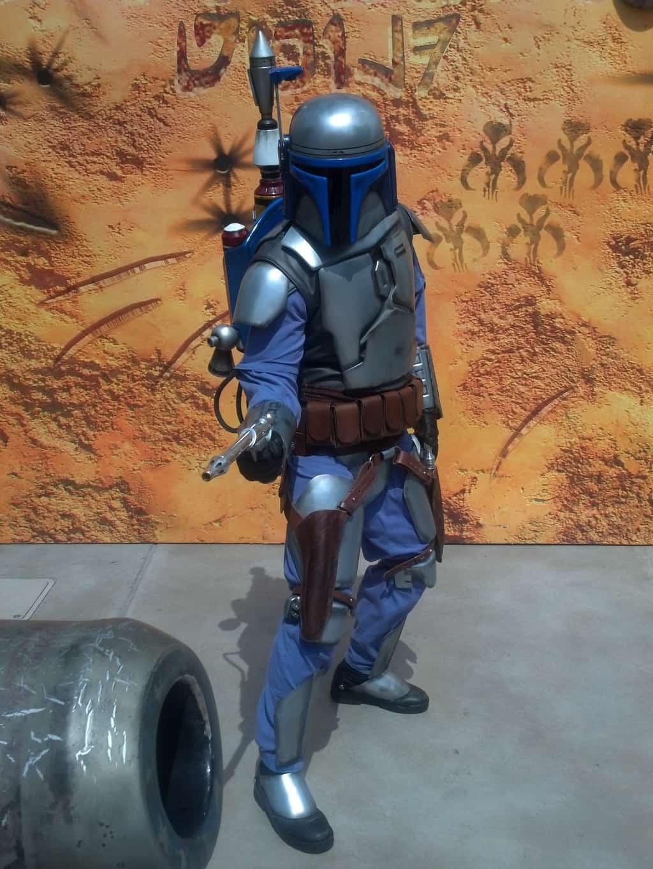 Jango Fett at Star Wars Weekends 2012 - Bad guy bounty hunter.