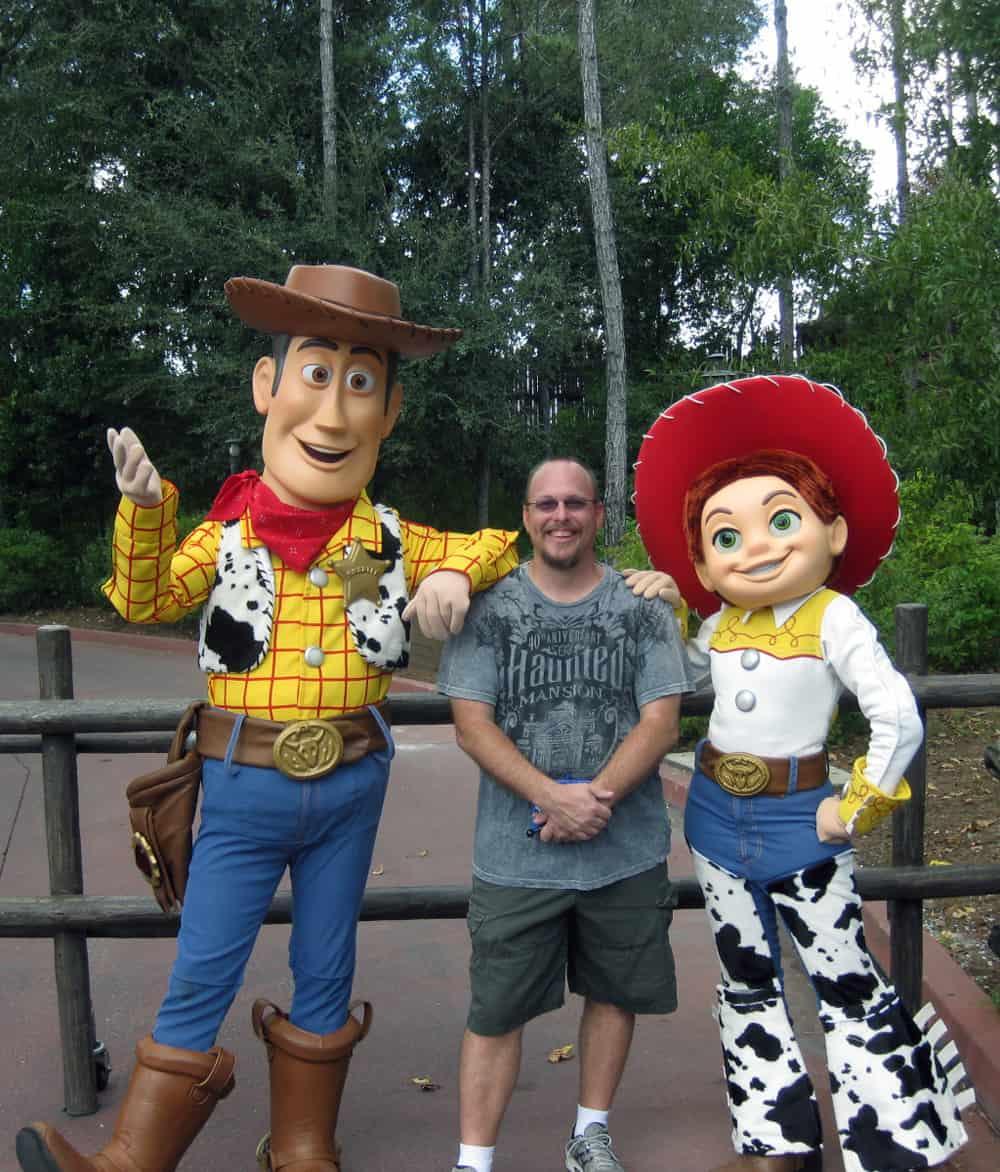Woody and Jessie - Magic Kingdom - KennythePirate.com