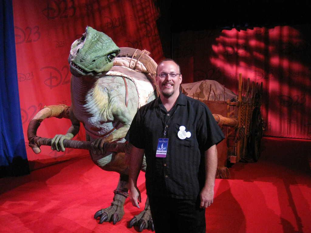 D23 Convention, Lucky the Dinosaur