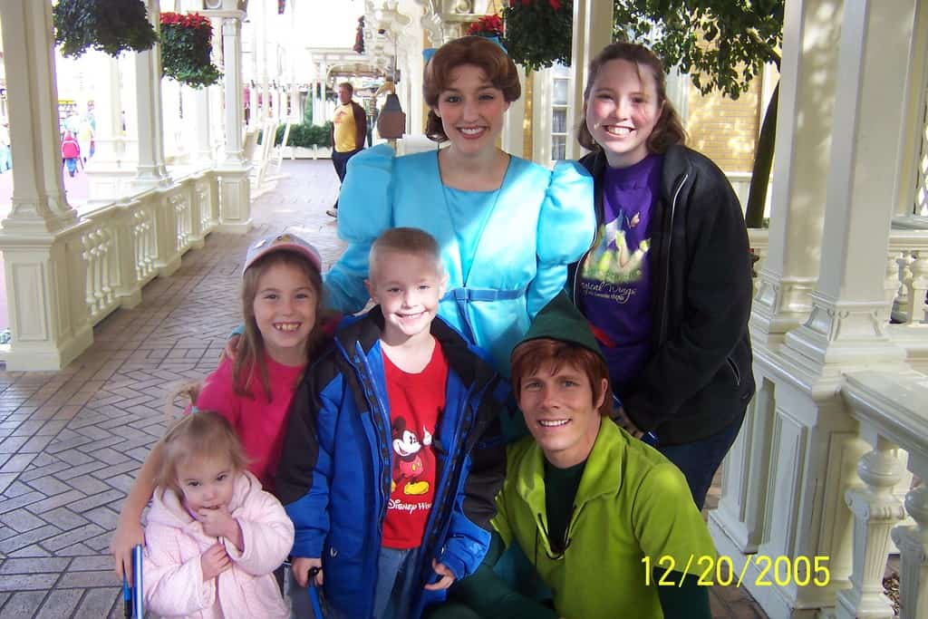 Walt Disney World, Magic Kingdom Characters, Town Square, Peter Pan, Wendy