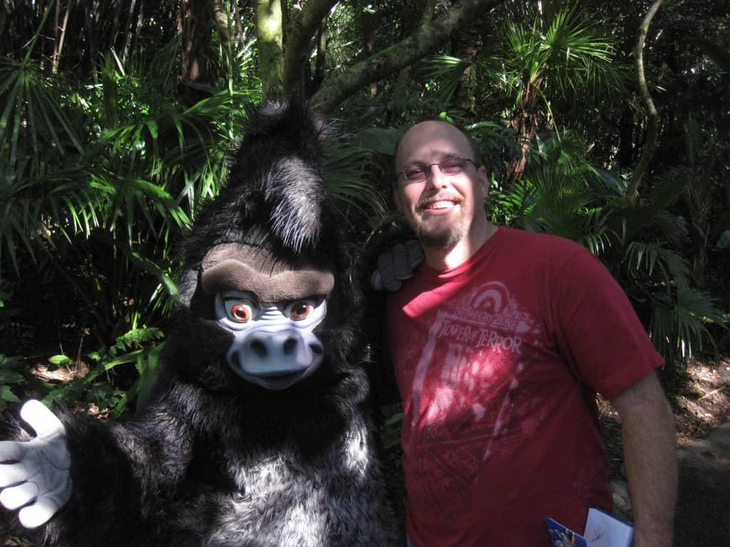 Terk in Animal kIngdom 2010